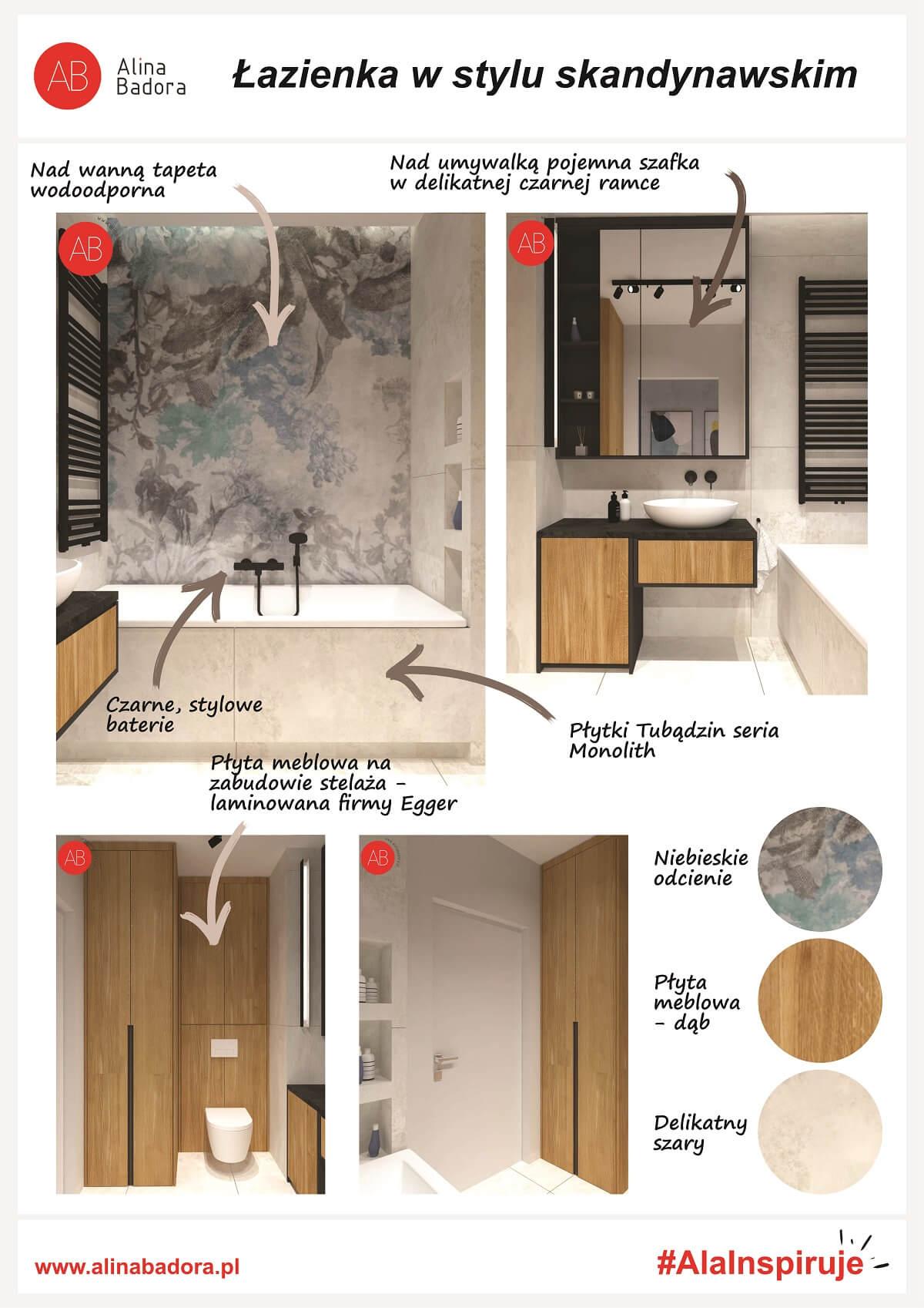 Inspiracje Ali - jak urządzić łazienkę w stylu skandynawskim