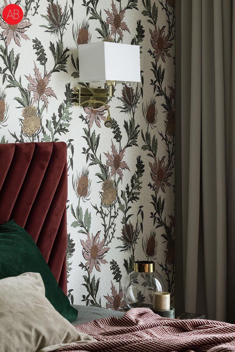 Apartament Burgundzkie wino (Złota 44.) - projekt wnętrza | Alina Badora, architekt wnętrz