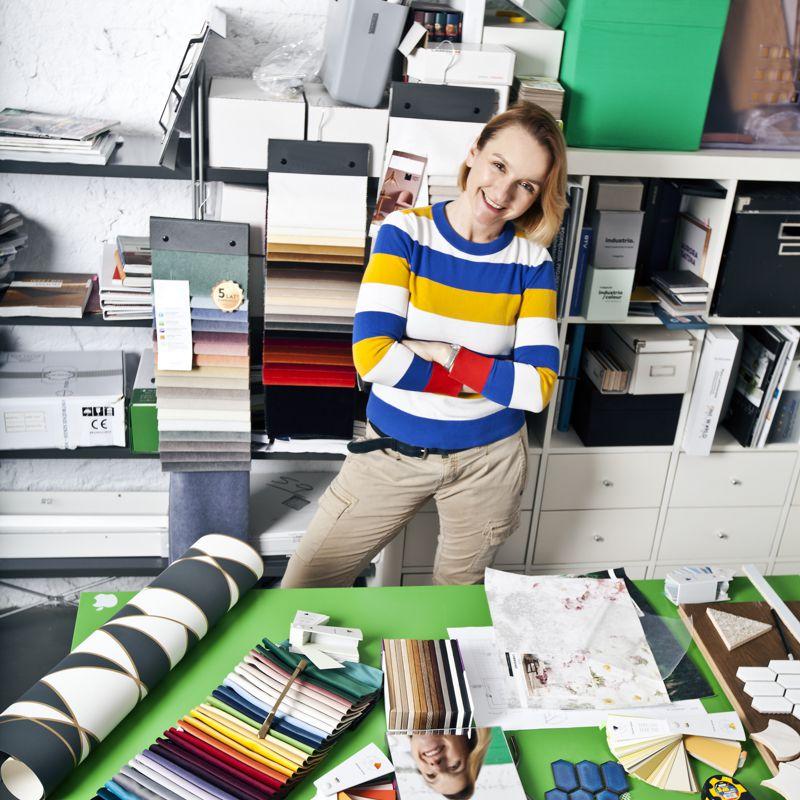 Dobór materiałów do aranżacji wnętrz | Alina Badora, architekt wnętrz