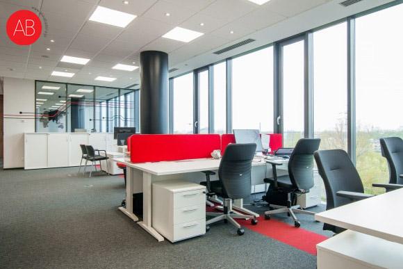 Przestrzeń biurowa Honor samuraja (Biura Toshiba Lighting) | Alina Badora, architekt wnętrz