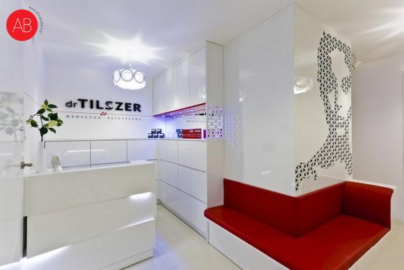 Świątynia urody - projekt wnęrza kliniki Tilszer | Alina Badora, architekt wnętrz