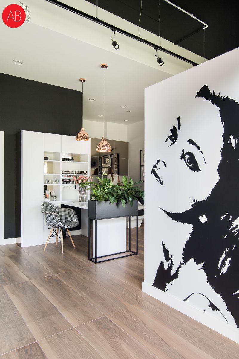 Miss Ann - projekt wnętrza salonu urody | Alina Badora, architekt wnętrz