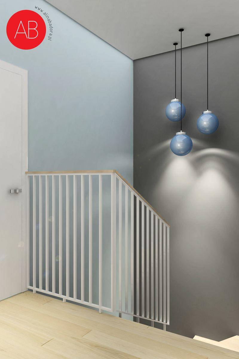 Pastelove ukojenie - projekt aranżacji domu (pokój korytarz) | Alina Badora, architekt wnętrz