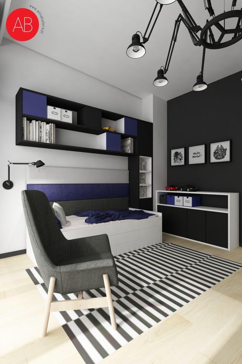 Pastelove ukojenie - projekt aranżacji domu (pokój dziecka) | Alina Badora, architekt wnętrz