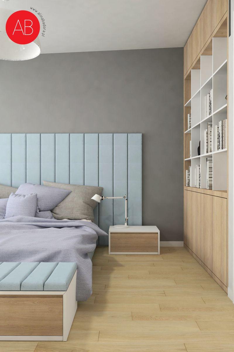 Pastelove ukojenie - projekt aranżacji domu (sypialnia) | Alina Badora, architekt wnętrz