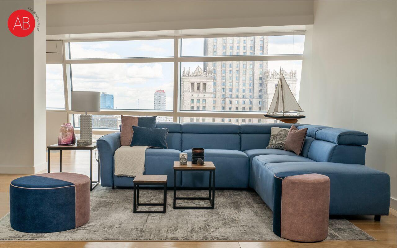 Apartament Spokój Oceanu Złota 44 | Projektowanie wnętrz Alina Badora