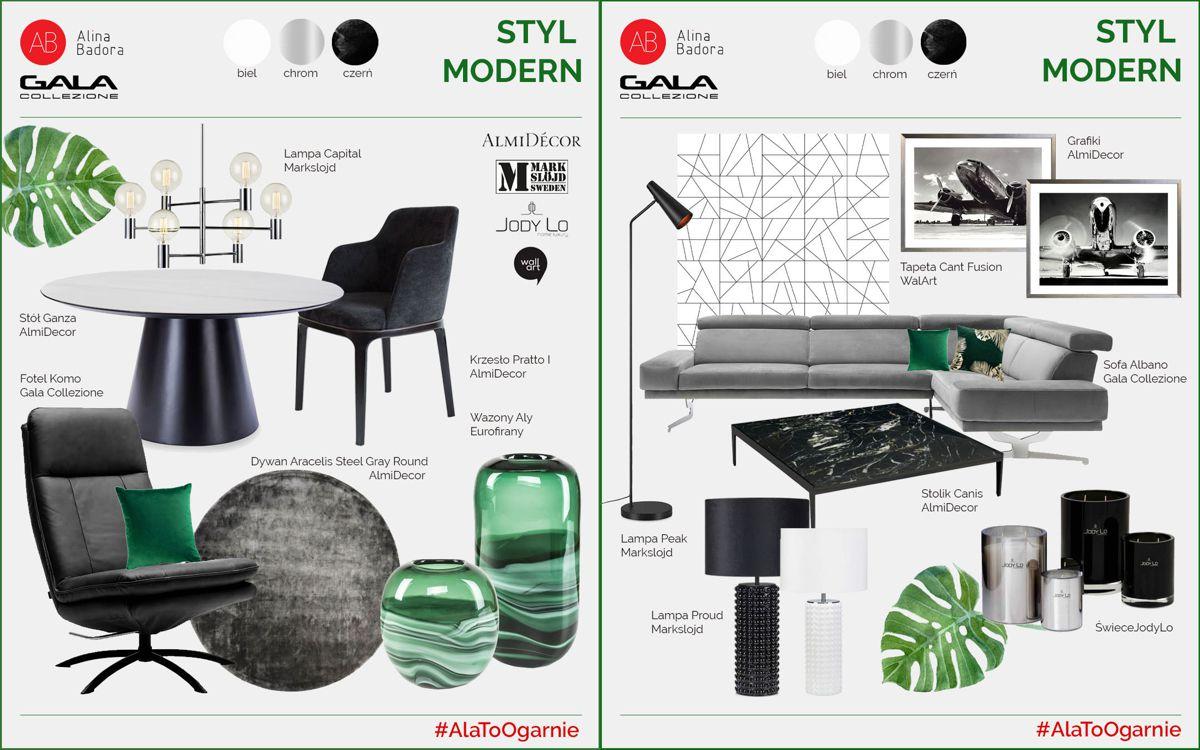 #AlaToOgarnie - artboard by Alina Badora, styl modern | akcja z Gala Collezione