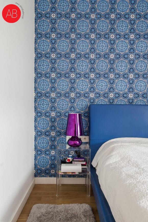 Włoskie wakacje (sypialnia) - projekt wnęrza | Alina Badora, architekt wnętrz