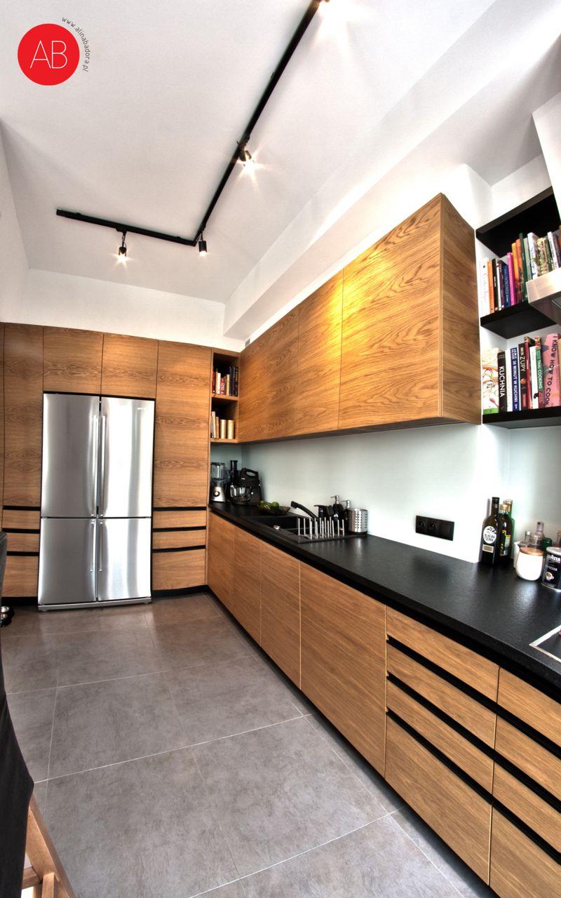 Z nutką nostalgii - projekt wnętrza mieszkania (kuchnia) | Alina Badora, architekt wnętrz