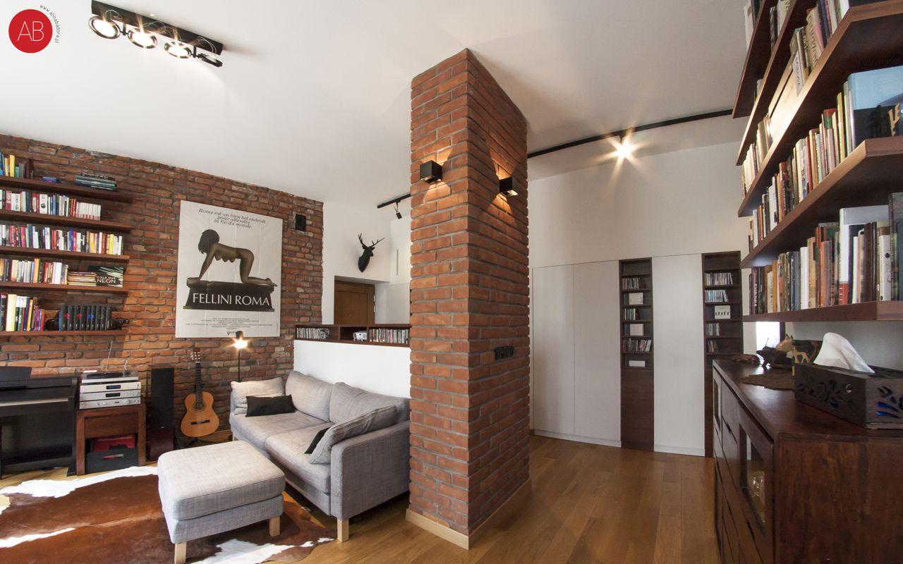 Styl klasyczny - projekt wnętrza mieszkania (salon) | Alina Badora, architekt wnętrz