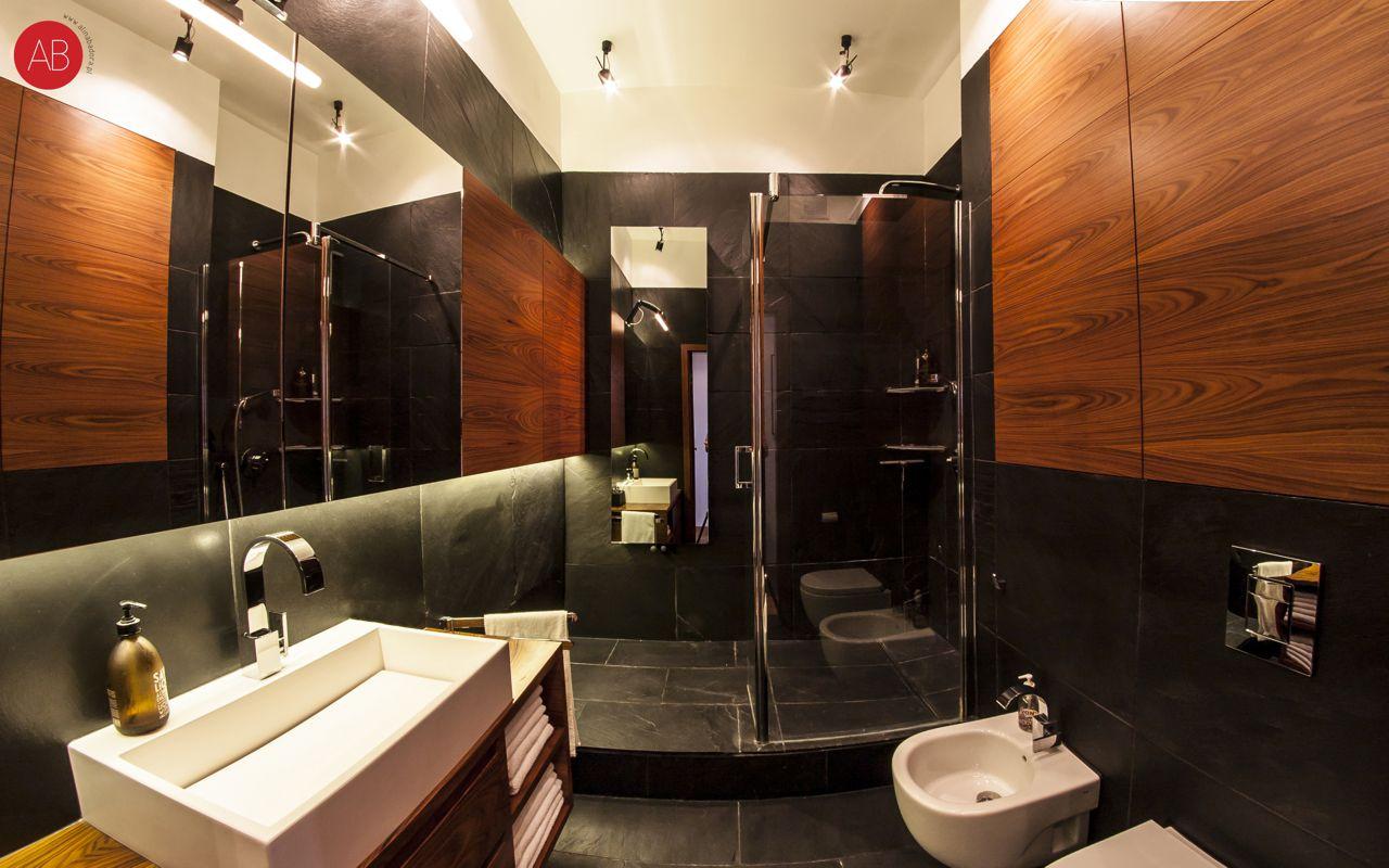 Z nutką nostalgii - projekt wnętrza mieszkania (łazienka) | Alina Badora, architekt wnętrz